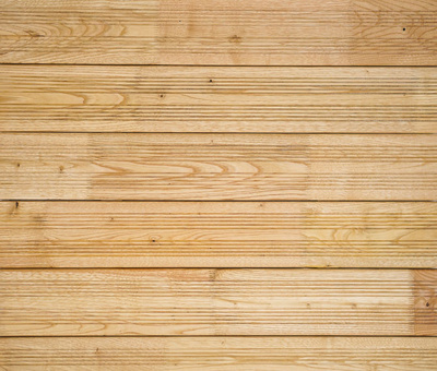 French Chestnut Decking Pure with Grooves