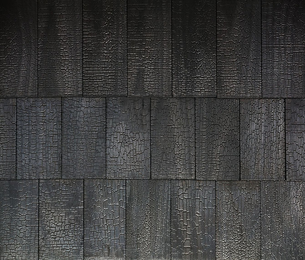 accoya charred shingles delta millworks austin texas. Black Bedroom Furniture Sets. Home Design Ideas